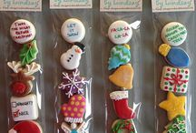 Christmas biscuit stocking fillers