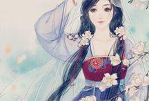 illustrazioni ragazze jappo
