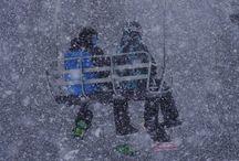Ski Colorado - Colorado Info / Get out and SKI! #SkiColorado When you're in Colorado, be prepared to feel the crisp and clean mountain air smack your face as you ski through fresh powder at one of Colorado's 26 ski areas.