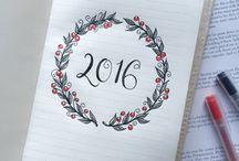 Päiväkirja & koristelu