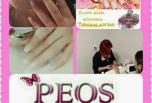 """Peos Güzellik Salonu / """""""" Elleri güzel gösteren Tırnaklardır.."""""""" Protez Tırnak (jel ve akrilik sistem) olarak PEOS GÜZELLİK salonumuzda yapılmaktadır... Tırnak yemeye son vermek istiyorsanız mutlaka bekliyoruz...!!!! www.peosguzellik.com"""