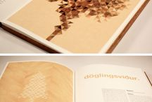 WIC Cover Book Design Material Wood / Print ads