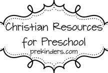 Christian preschool ideas / by Toni Jones