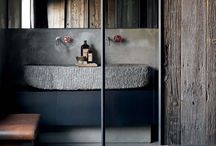 MY HOME | INTERIOR / Rustic | Raw | Moody | Concrete | Wood | Steel | Stone | Brick | Earth | Clay | Black | Grey |