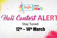Holi Contest Alert