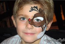 Face Painting xmass