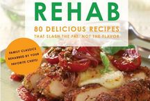 Recipe Rehab / The Recipe Rehab Cookbook — which boasts 80 classic family recipes — is finally here! Pin your favorite rehab recipe or healthy swap for a chance to win this healthy (and tasty) cookbook. / by Everyday Health