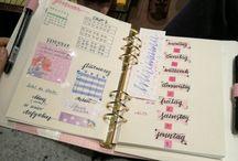 Selfmade Bullet Journal