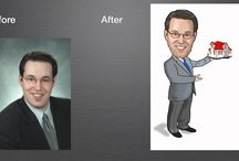Colour Tech - Caricatures  / Fun way to promote yourself and your business