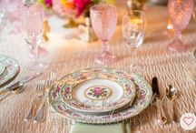 Total Table Inspiration - Zig Zag Elegance / Zig Zag Linens