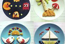 Pratos criativos para as crianças