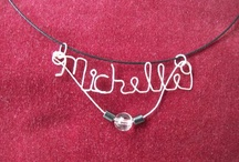 Wire Name Sterling Silver