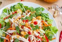 Eat, Salad & Dressing / by Annemarie Stojkovic