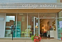 Cottage Industry / We are a modern retail shop located at 79 Grafton Street in Charlottetown, Prince Edward Island on the east coast of Canada.