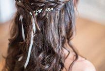 Wedding make up & hairstyle