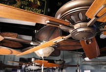 Our Ceiling Fans / Some of the beautiful ceiling fans that we love.