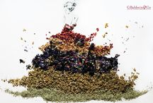 Herb Art / Stunning art created with Baldwin's Herbs for our Relaxation Month