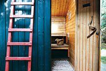 sauna, sauna wood stove