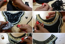 DIY Necklace cholar
