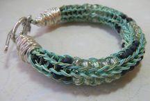 spool knitting bracelets