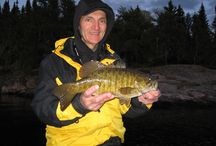 Small Mouth Bass at Sabourin