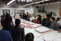 Students from the Fashion Retail Academy visiting the Factory