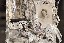 Lace collage