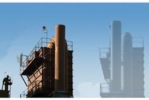Industrial Inspiration / Urban vs. Rural, Modern vs. Vintage