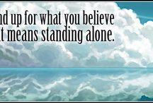 Standing alone Quotes / Standing alone Quotes