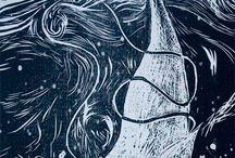 Mobydick Illustration