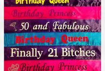 Birthday SassySash Sashes