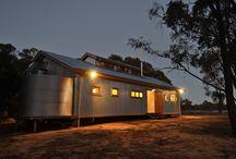 australian shearing shed homes