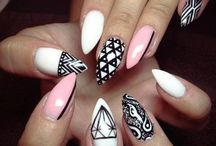 Claws / Nails that come to a point  / by ags_nails