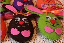 Wielkanoc dekoracje / stroiki, stoły, wianki, kompozycje
