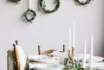karácsonyi zöld dekoráció