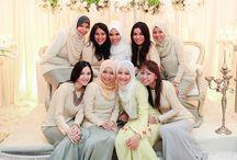 Hijab bridesmaid