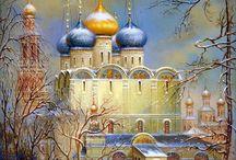 Картина храм