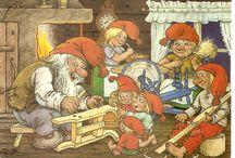 joulukortteja Rolf Lidberg
