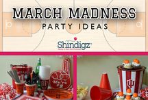 Party Ideas - Basketball / Whether you're looking for ideas for you sons basketball team or are an avid follower of professional sports, we'll pin some great ideas to this board. Everything from what to wear to game day to how to set up your basketball themed birthday party. / by Shindigz Party Supplies
