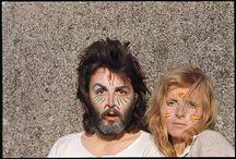 PAUL & JANE/PAUL & LINDA~ / by Larry Trasciatti