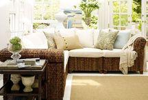 seagrass furniture / by Christl Weirich