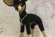Crochet dog