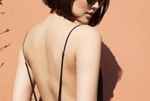 BF : FALL BACK / The perfect black satin slip dress. Comfortable, chic and timeless.  www.beijaflorlingerie.com