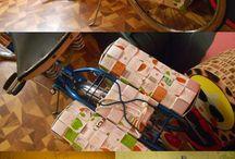 Espiguere / Manualidades, reciclaje que elaboro en mi pequeño taller