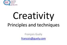 Guely Consulting / Here are some that I share with you rom my conslting activity.  Je partage avec vous quelques contenus en provenance de on activité de consulting.