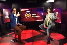Lets Football Show in Star Sports Studio, Expert Analyst / Lets Football Show in Star Sports Studio, Expert Analyst