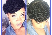 Weave-Free Protective Styles / A collection of protective styles you can achieve without weave or extensions