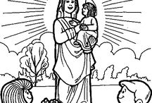Catholic Coloring Pages ⊰†