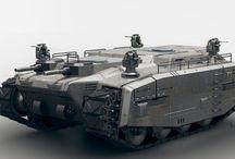 Sci fi tanks