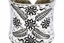 Ringer, silver, handmade